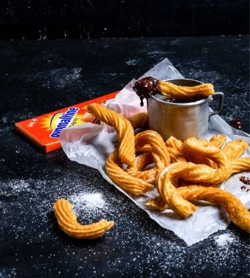 Churros mit Chocolate