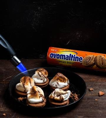 S´mores mit Marshmallows